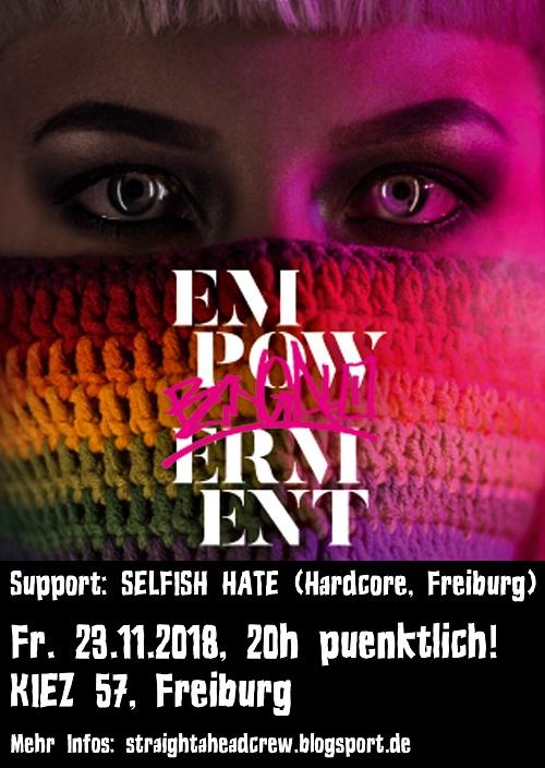 Empowerment - Flugblatt - 23.11.2018, Freiburg im Breisgau, Kiez 57