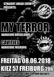 """My Terror + Cavities, 08.06.2018, Freiburg im Breisgau, Kiez 57/> alt="""""""
