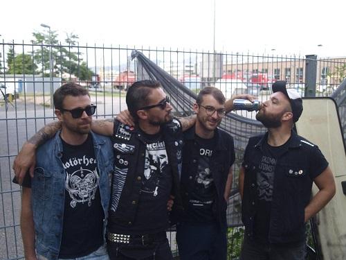 Scheissediebullen-Band-Foto