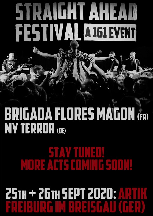 Straight Ahead Festival. A 161 Event. 2020. Ankündigung 4 komprimiert