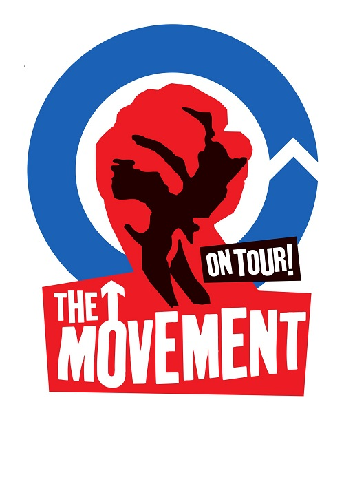 The Movement-Tourposter komprimiert